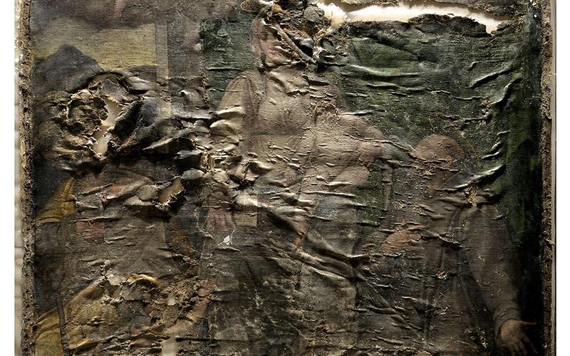 Giovanni Paolo Cardone, Madonna - Prima del restauro