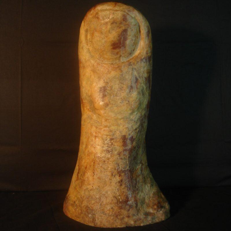 Pollice in zucchero di César - Dopo il restauro
