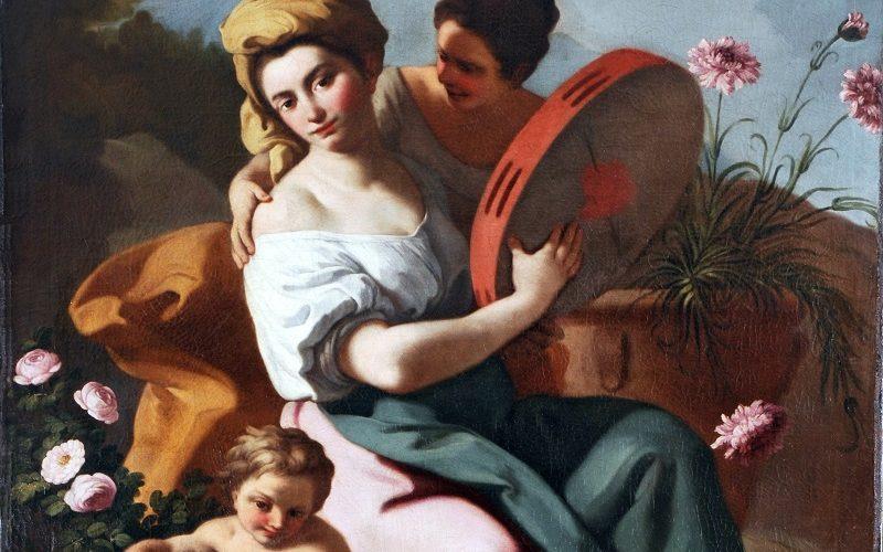 Francesco De Mura, Allegoria della primavera - Dopo il restauro