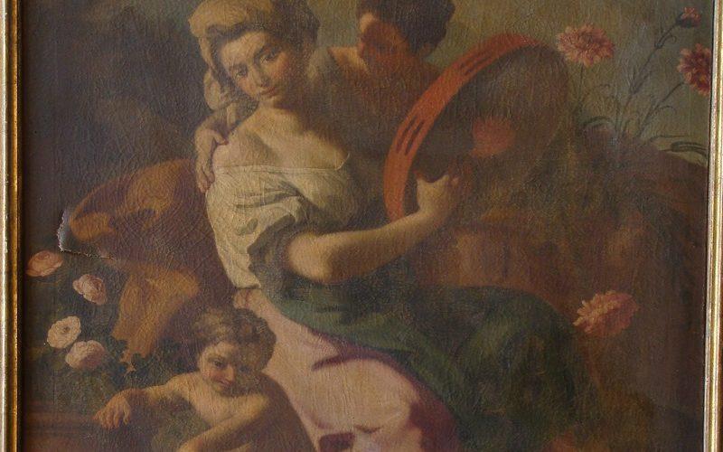 Francesco De Mura, Allegoria della primavera - prima del restauro